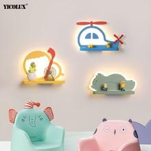 Schlafzimmer Beleuchtung Moderne LED Wand Lampen für baby Nacht Indoor Lichter Wandlamp Leuchte Bär Elefant Form Eisen Leuchte Abajur