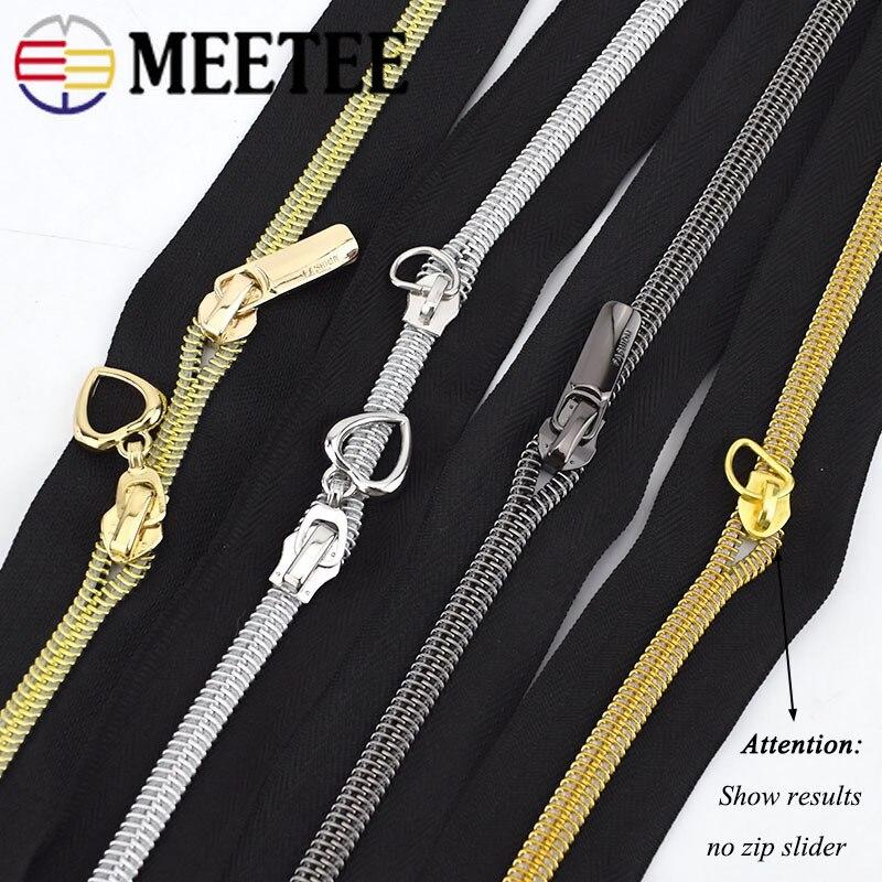 Купить с кэшбэком 4Meters 3# 5# Nylon Zippers for Sewing DIY Zip Clothes Open-end Plastic Zipper Sports Coat Bag Garment Clothing Accessories
