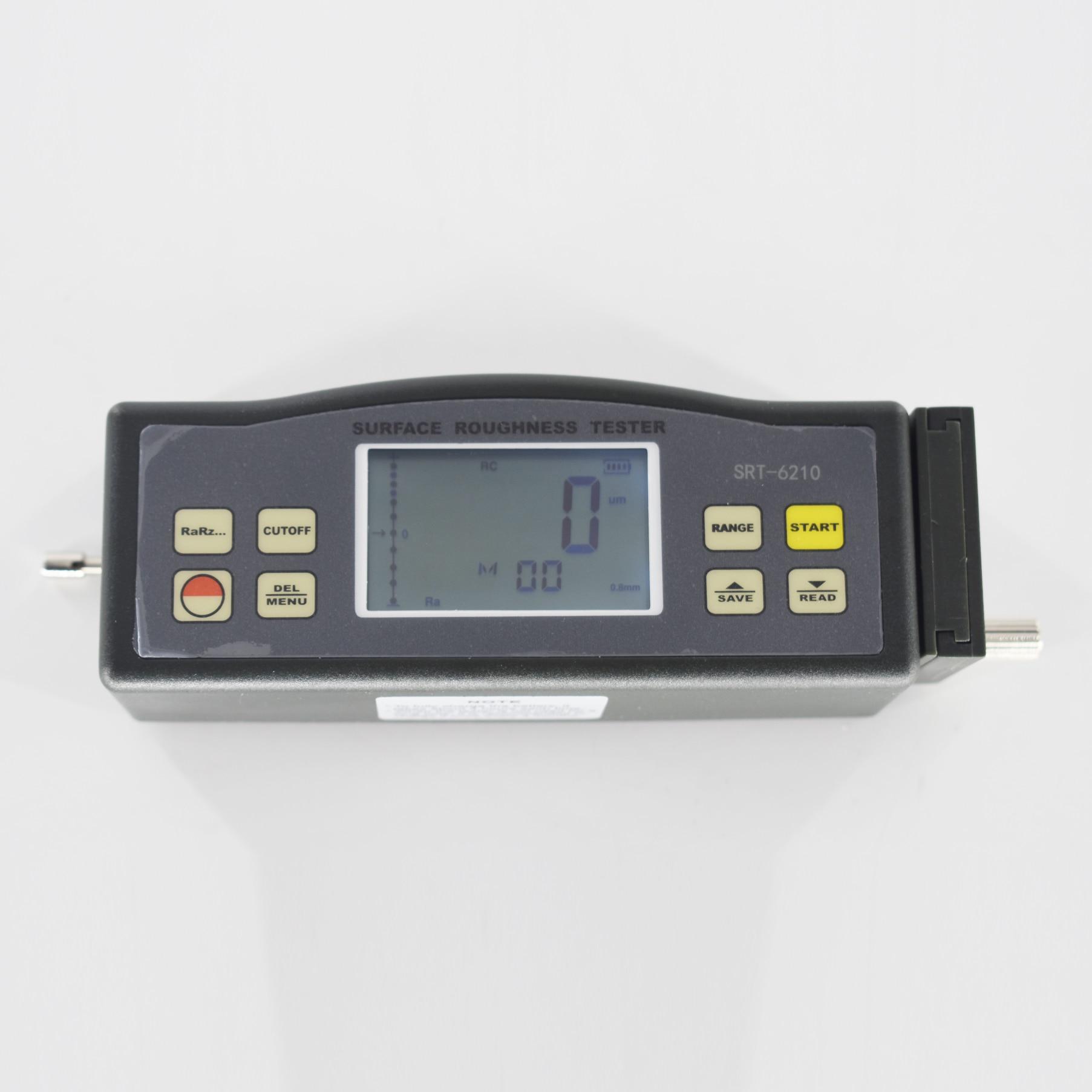 أداة قياس خشونة الأسطح SRT-6210 Ra Rq (0.005 ~ 16.00 um) Rz Rt (0.020 ~ 160.0 um) مقياس خشونة المحمولة
