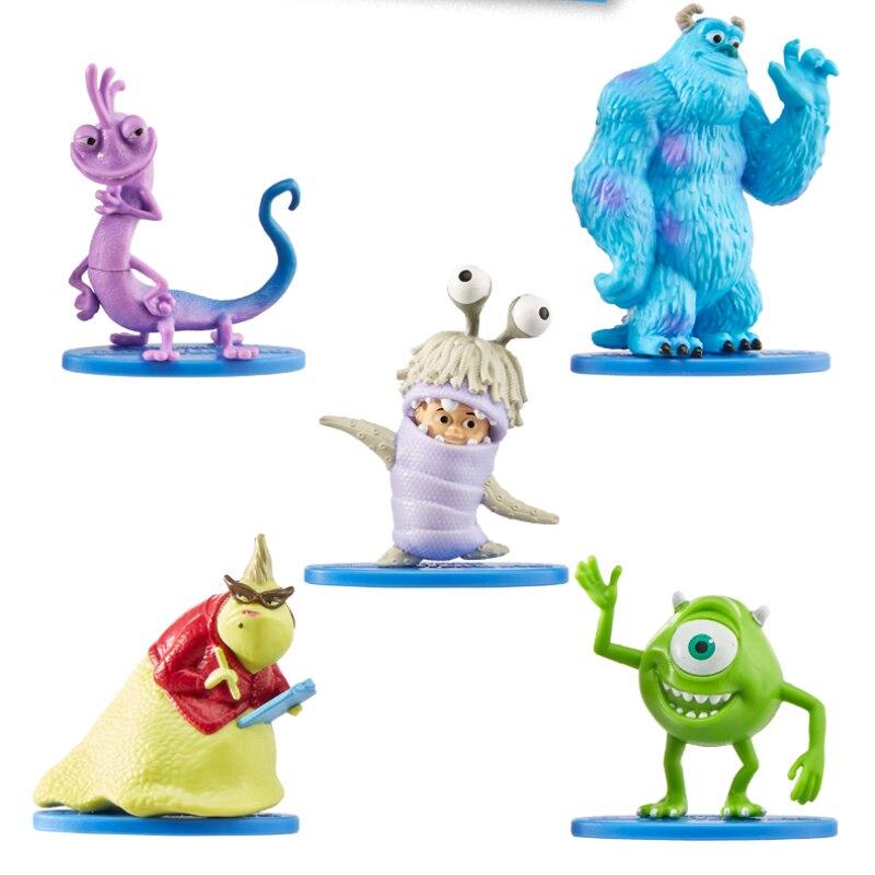 Original 5pcs/set Pixar Monsters Mike Boo Sulley GNF64 Anime Figures Decor Birthday Christmas Gifts