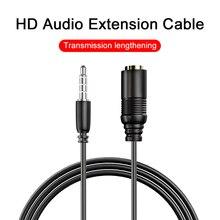 Extension line Public to female audio cable headphone 3.5mm earphone extension cable 0.75m Aux line