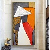 abstract oil paintings on canvas by picasso famous art reproductions wall posters and print hanging pictures for living room