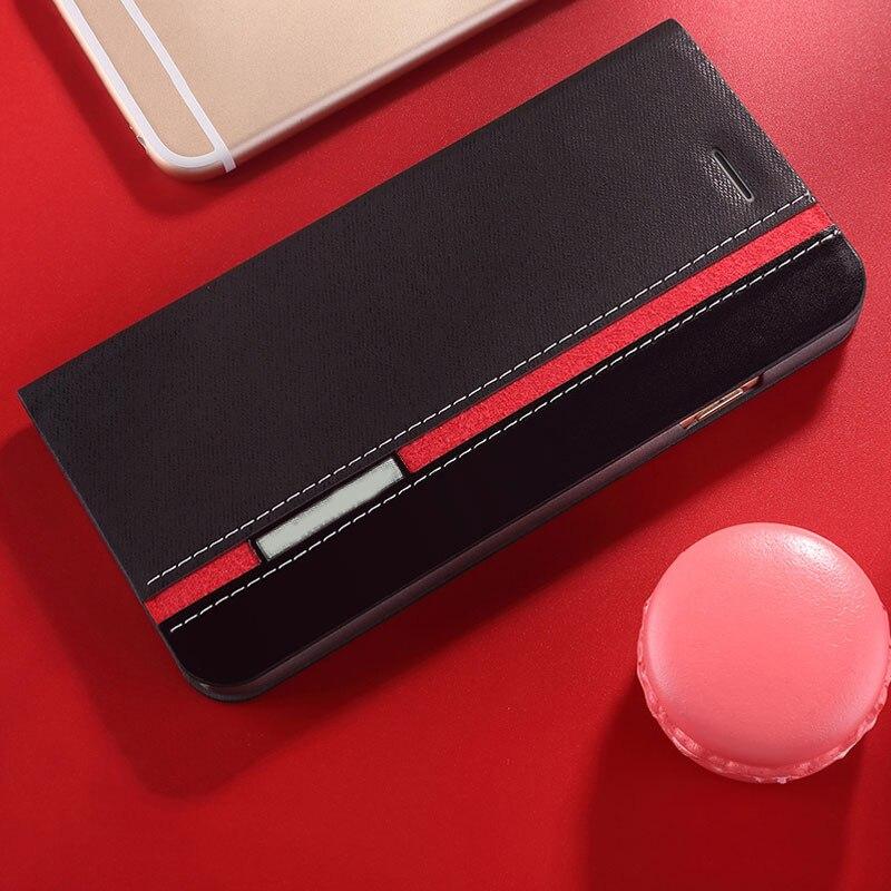 Funda de cuero de lona de vaquero con tapa para Lenovo Z6 Pro, funda de teléfono, funda de cartera de negocios para Lenovo A6 Note K5 Pro S5 Pro, funda trasera