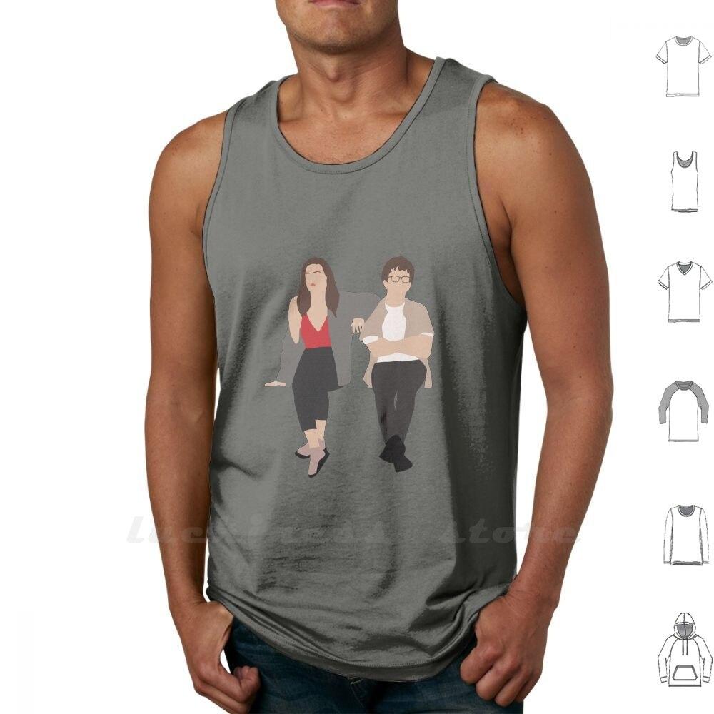 Amor (Netflix) sin mangas camiseta sin mangas de algodón Paul óxido Judd Apatow Lesley Arfin David King amor Netflix serie amor
