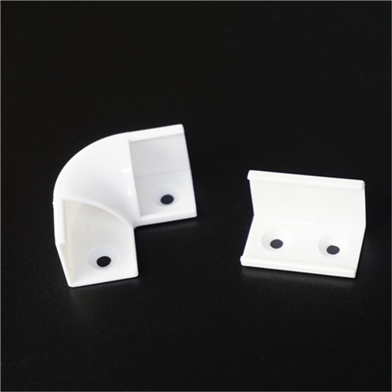 Угловой Профиль соединитель, 90 градусов и 180 градусов соединение для 16 мм шириной полукруглый 45 градусов полоса алюминиевый профиль