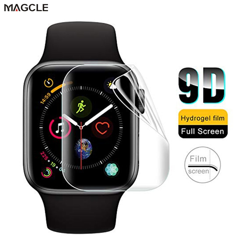 Soft Hydrogel Full Screen Protector Film for Apple Watch 38mm 42mm 40mm 44mm Tempered Film for iwatc
