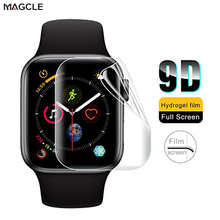 Soft Hydrogel Full Screen Protector Film for Apple Watch 38mm 42mm 40mm 44mm Tempered Film for iwatch 6/5/4/3/2/1 Not Glass