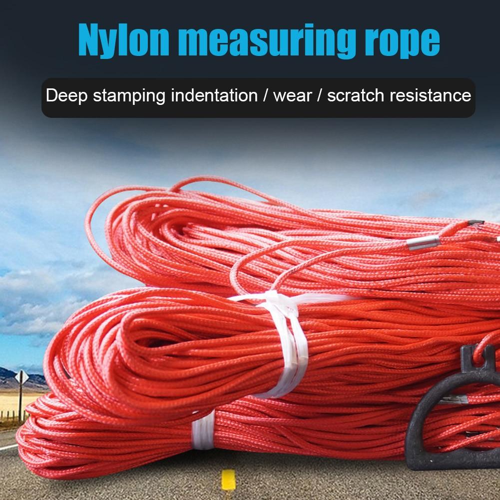 Cable de acero Nylon Paracord paracaídas atar abajo cuerda de medición K888