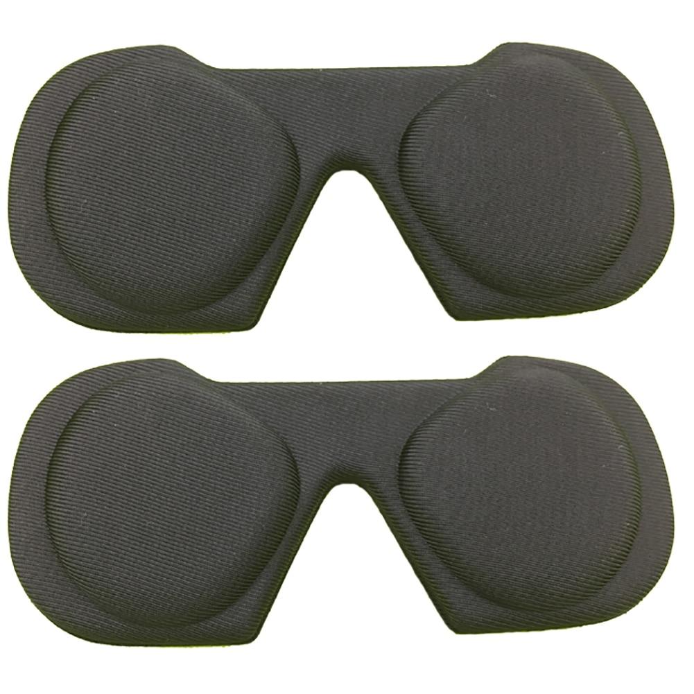 Almofada olho jogos vr lente capa manga acessórios lavável proteção à prova de poeira fone de ouvido caso leve para oculus rift s