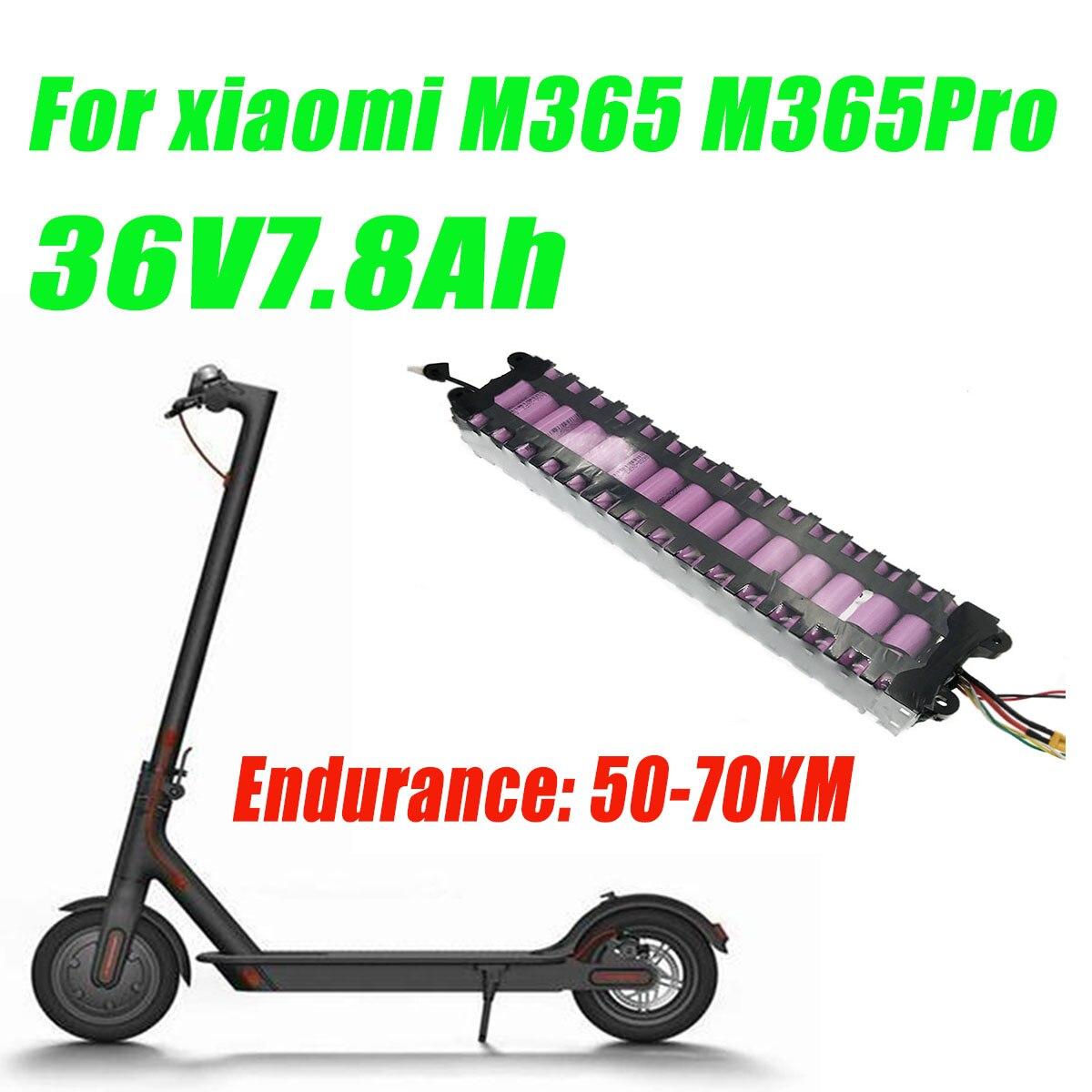 دراجة كهربائية سايكونg10s3p بطارية ليثيوم 36 فولت 7.8Ah مزودة ببطارية 20A BMS متوافقة 100% مع شاومي سكوتر Mijia M365 Pro