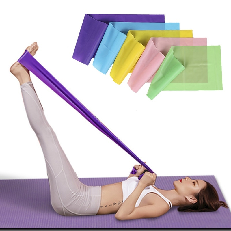 yoga elastic band resistance bands fitness for home gym equipment elasticas workout exercise rubber training band set Yoga elastic band Resistance Bands Fitness For Home Gym Equipment Elasticas Workout Exercise Rubber Training Band Set