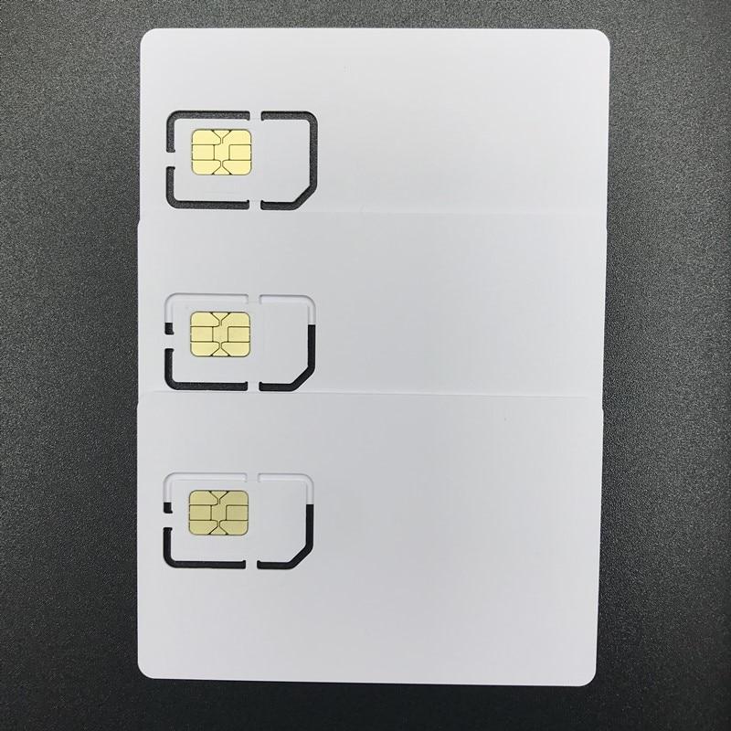OYEITIMES SIM Card Reader+3PCS 2FF/3FF/4FF Programmable 5G NR ISIM Card Blank 5G ISIM Card 3GPP R16 +4.2.1 SIM Personalize Tools enlarge