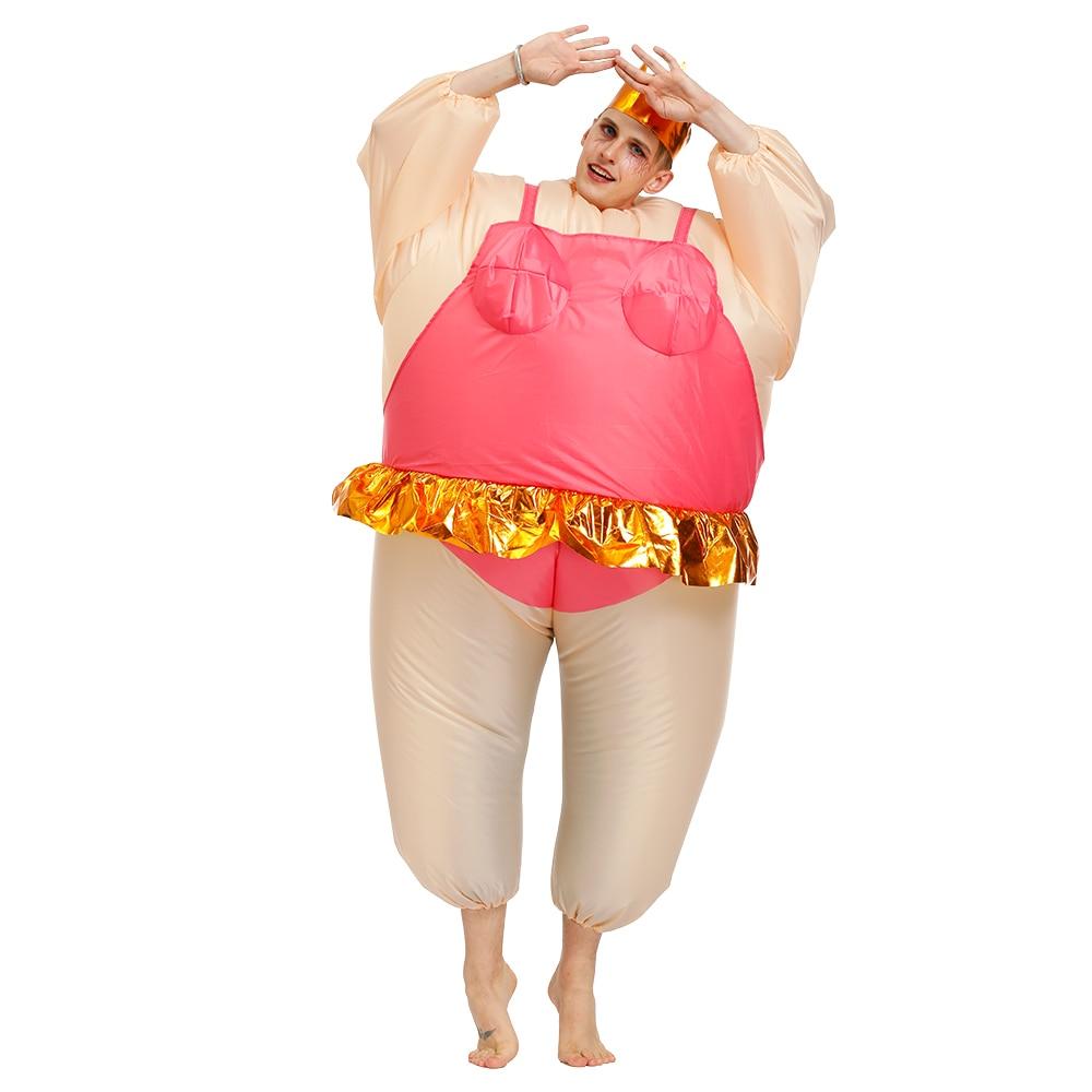 Надувной балет для взрослых, костюм на Хэллоуин для женщин и мужчин, балерины, карнавальный костюм, нарядное платье, костюмы для рождественской вечеринки