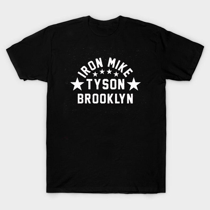 Camiseta Iron Mike Tyson Brooklyn New York Boxing Legend Verano de algodón de manga corta cuello redondo para hombres nueva S-3XL