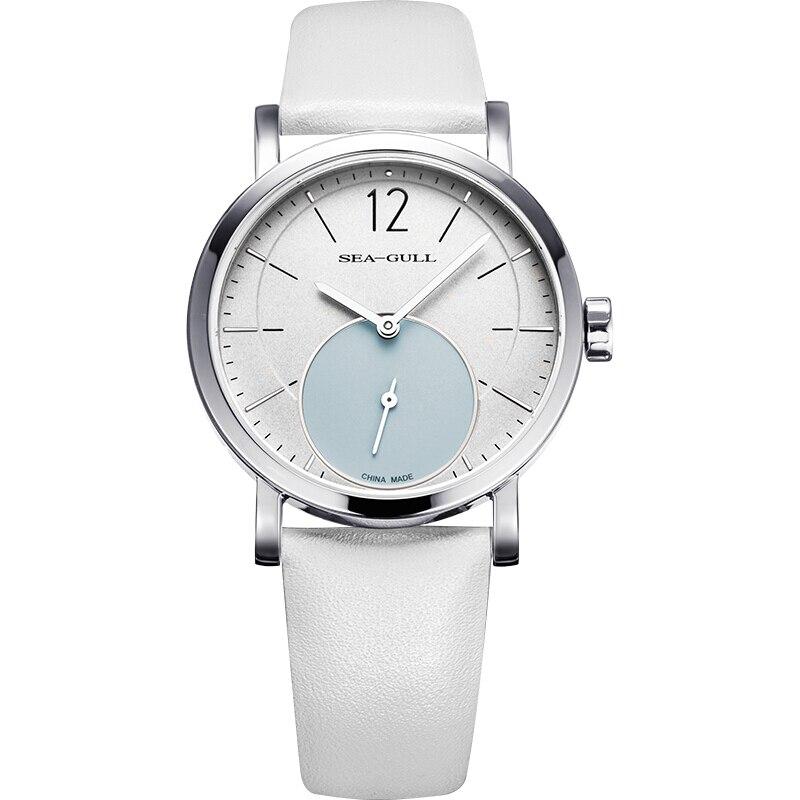Seagull Ultra Thin 9MM Women's Lady's Manual Hand Wind Mechanical Fashion Watch 819.97.5009L
