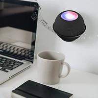 Support mural Stable pour mini haut-parleur intelligent HomePod  cadre en alliage daluminium Durable  Support de rangement pour haut-parleurs