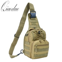 Qiaoduo Men Military Bag Tactical Crossbody Bags Unisex Fashion Camouflage HandBags Cool Camping Hiking Travel Shoulder Bags