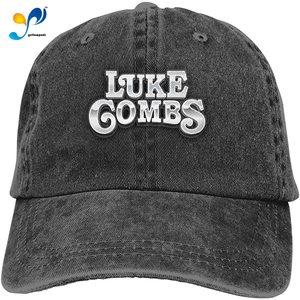 David E Everett Luke Combs Denim Hat Fashion Can Adjust Denim Cap Baseball Cap Unisex