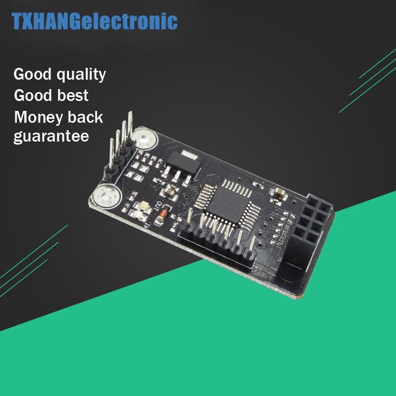 ATMEGA48 + NRF24L01 + drahtlose Schild modul SPI um IIC I2C Twi-schnittstelle diy elektronik