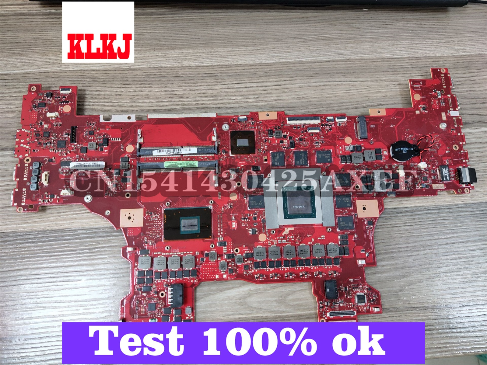 KLKJ GX700VO اللوحة الأم لأجهزة الكمبيوتر المحمول ASUS ROG GX700VO GX700V اللوحة الرئيسية الأصلية I7-6820HK GTX980M-8GB
