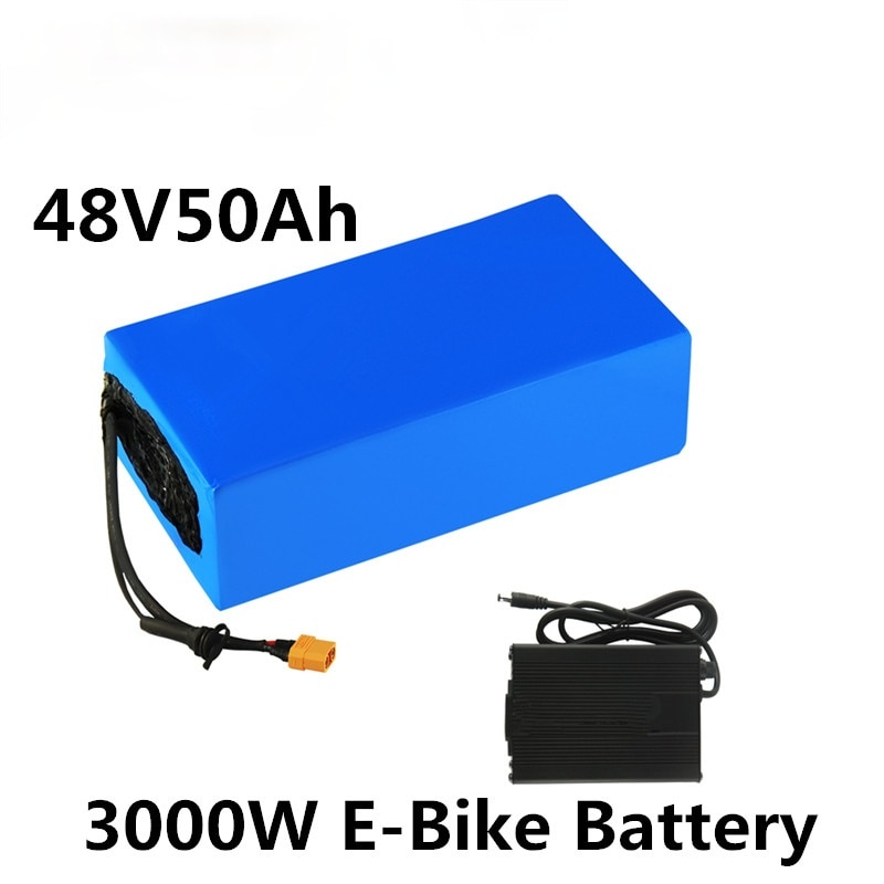 دراجة كهربائية 48 فولت 50 أمبير في الساعة 21700 13s10p 1000 واط 1500 واط 2000 واط 2500 واط بطارية ليثيوم 20A 30A 50A BMS بطارية دراجة كهربائية