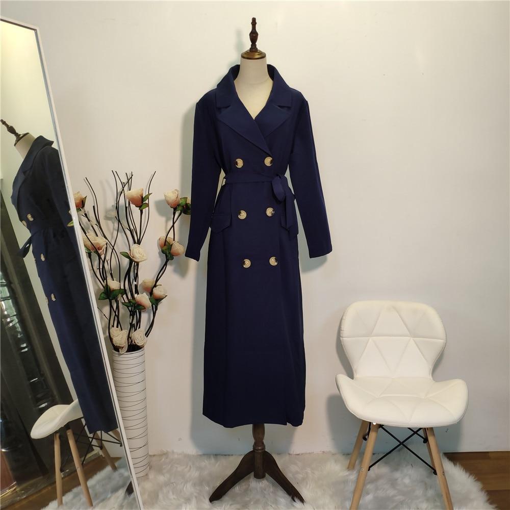 Gabardina larga de talla grande para Mujer de 3XL, gabardina femenina, abrigo femenino, Kimono femenino, ropa turca de Dubái para Mujer