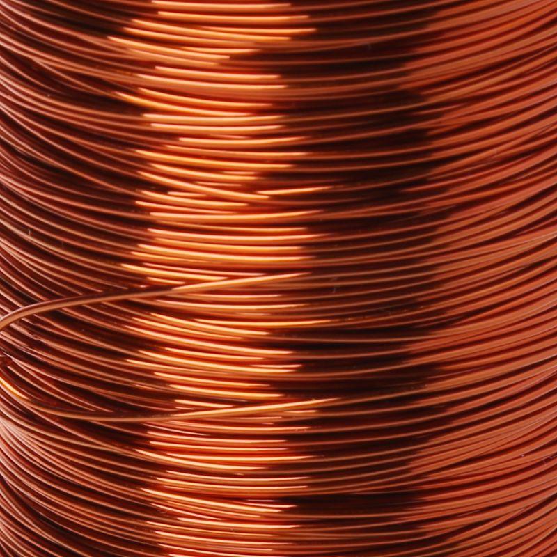 2020 nuevo 100m de alta temperatura poliéster imida esmaltado alambre de cobre 0,51mm QZY-2/180 R7RD