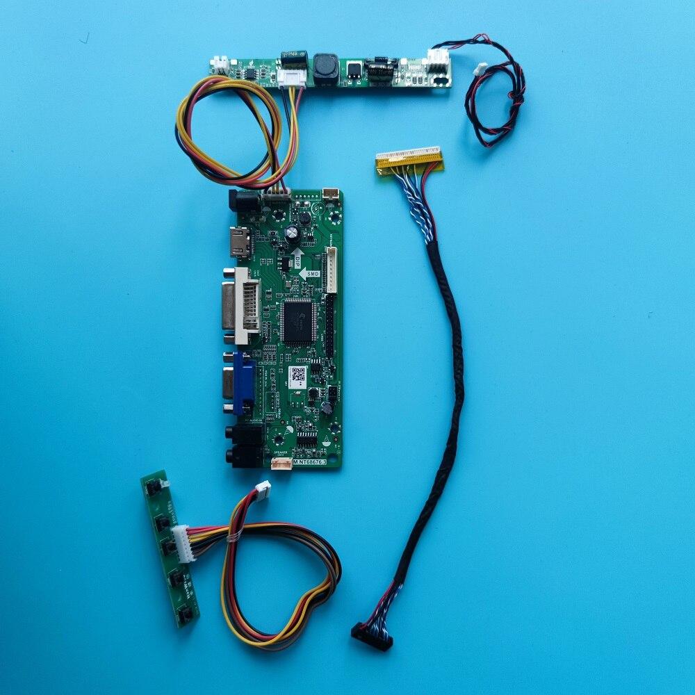 عدة لـ LP133WX3(TL)(A1) 30pin LVDS DVI لوحة 1280X800 13.3