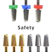 proberra 5 2mm safety noviciate gold silver 8 different color nail drill bit tungsten steel carbide burrs