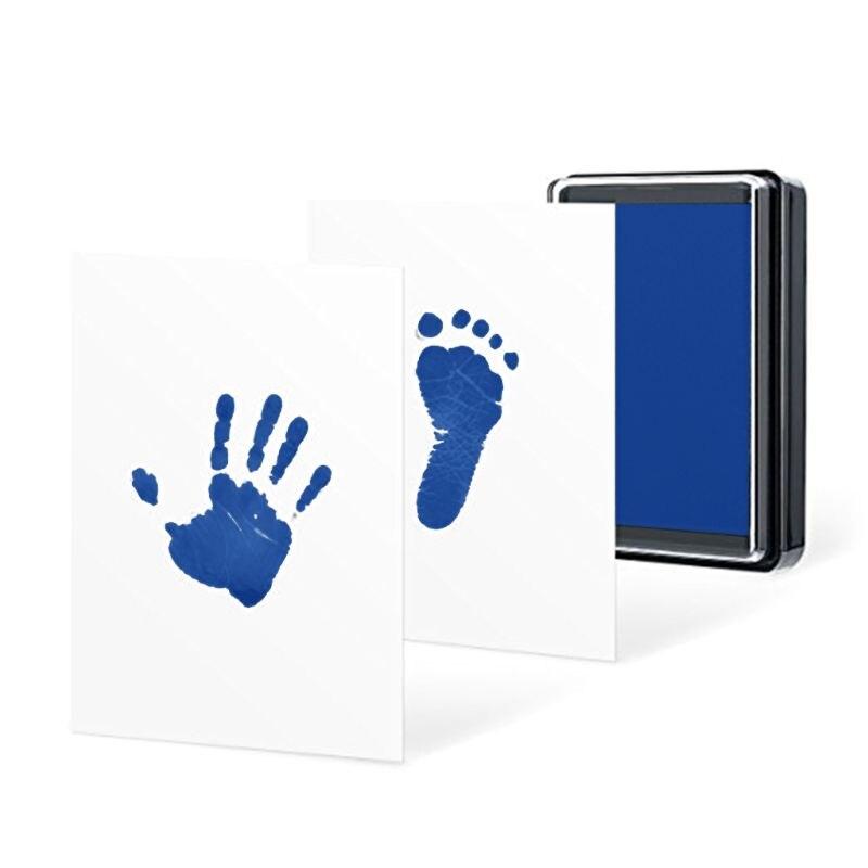 2021 New Baby Handprint Footprints Ink Pads Kits Pet Cat Dog Paw Print Souvenir Non-Toxic