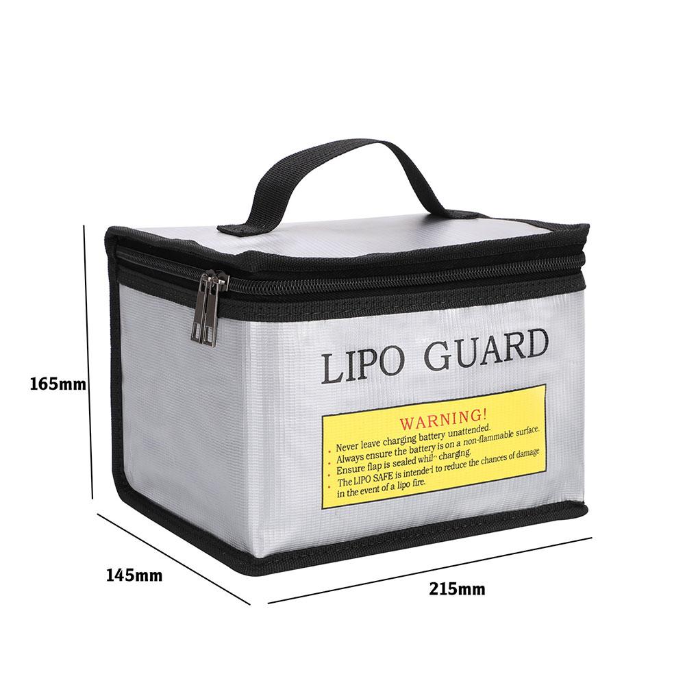 Портативная огнеупорная Защитная сумка для аккумуляторов LiPo, Взрывозащищенная огнеупорная сумка для зарядки аккумуляторов, безопасная су...