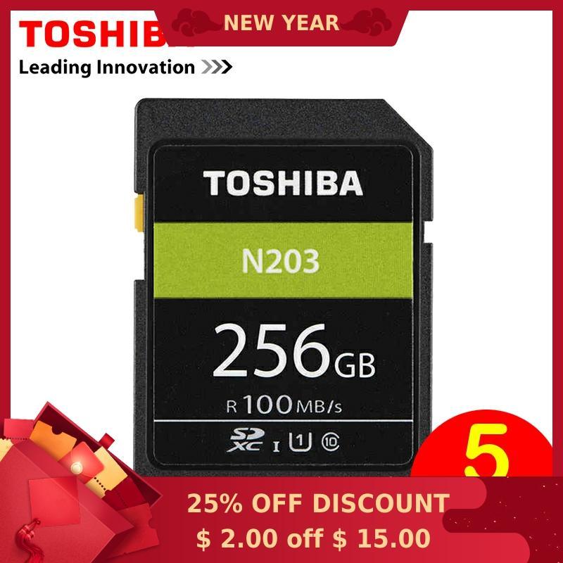 Toshiba SD Speicher Karte 256G UHS U1 128G 100 M/s 32GB SDHC Karte SD 64GB SDXC Karte Flash 16G U1 Für Digital SLR Kamera Camcorder DV