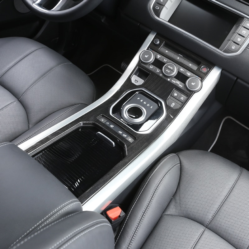 For Land Rover Range Rover Evoque 2012-2018 Center Console Gear Panel ABS Chrome Decorative Cover Trim Interior accessories enlarge