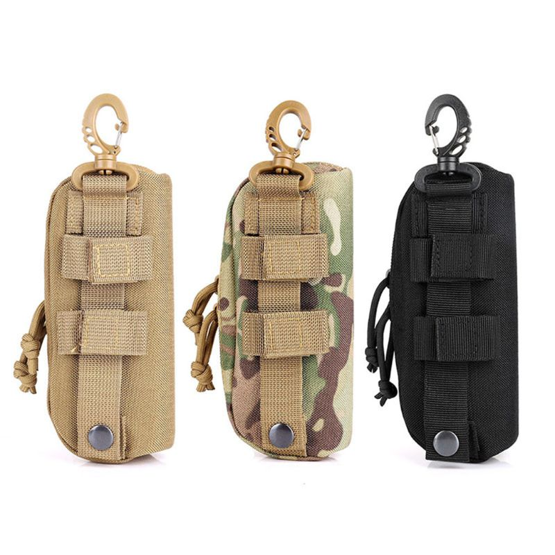 Outdoor Hunting Sunglasses Case Military Molle Pouch Goggles Storage Box 1000D Nylon Hard Eyeglasses
