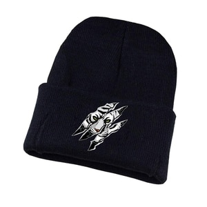 Anime Bungou Stray Dogs Knitted hat Cosplay hat Unisex Print Adult Casual Cotton hat teenagers winter Knitted Cap