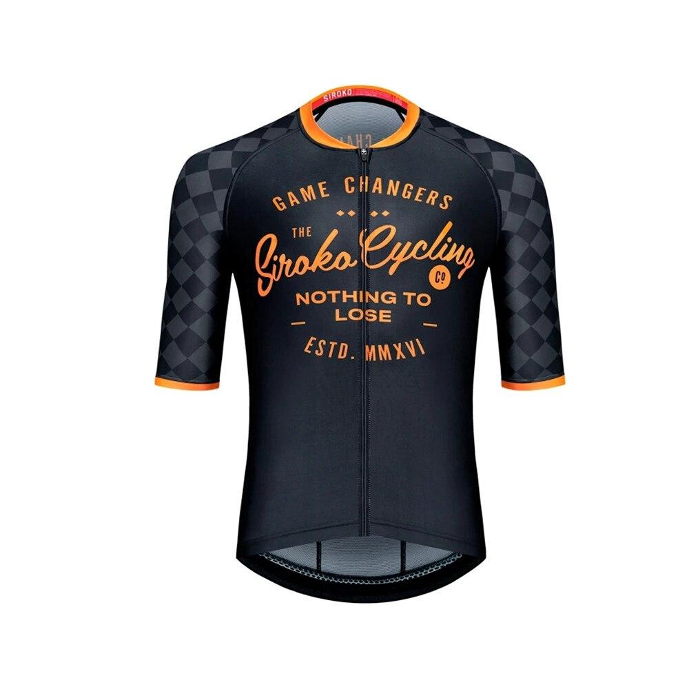 SIROKO-ropa deportiva de ciclismo para hombre, maillot de manga corta, conjunto de...