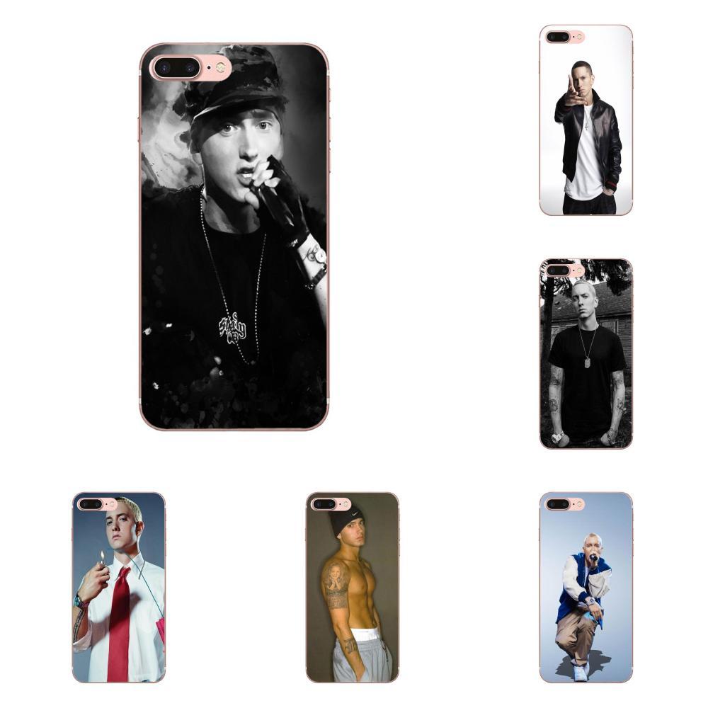 TPU Luxo Para Samsung Galaxy J1 J3 J4 J5 J6 J7 A10 A20 A20E A3 A40 A5 A50 A7 2016 2017 2018 Masculino Celebridade Hot Cantor Eminem