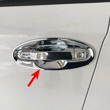 Хромированная дверная ручка облицовочная отделка для 2017 2020 Subaru Impreza Crosstrek XV