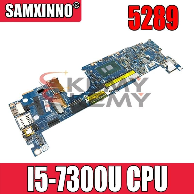 لديل خط العرض 5289 اللوحة المحمول CN-0XY712 0XY712 XY712 CAZ40 LA-E111P مع SR340 I5-7300U 100% اختبار كامل