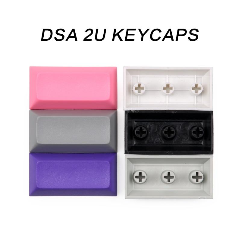 Teclas DSA 1.25U 1.5U 2U, Material Pbt para teclado mecánico personalizado Cherry...