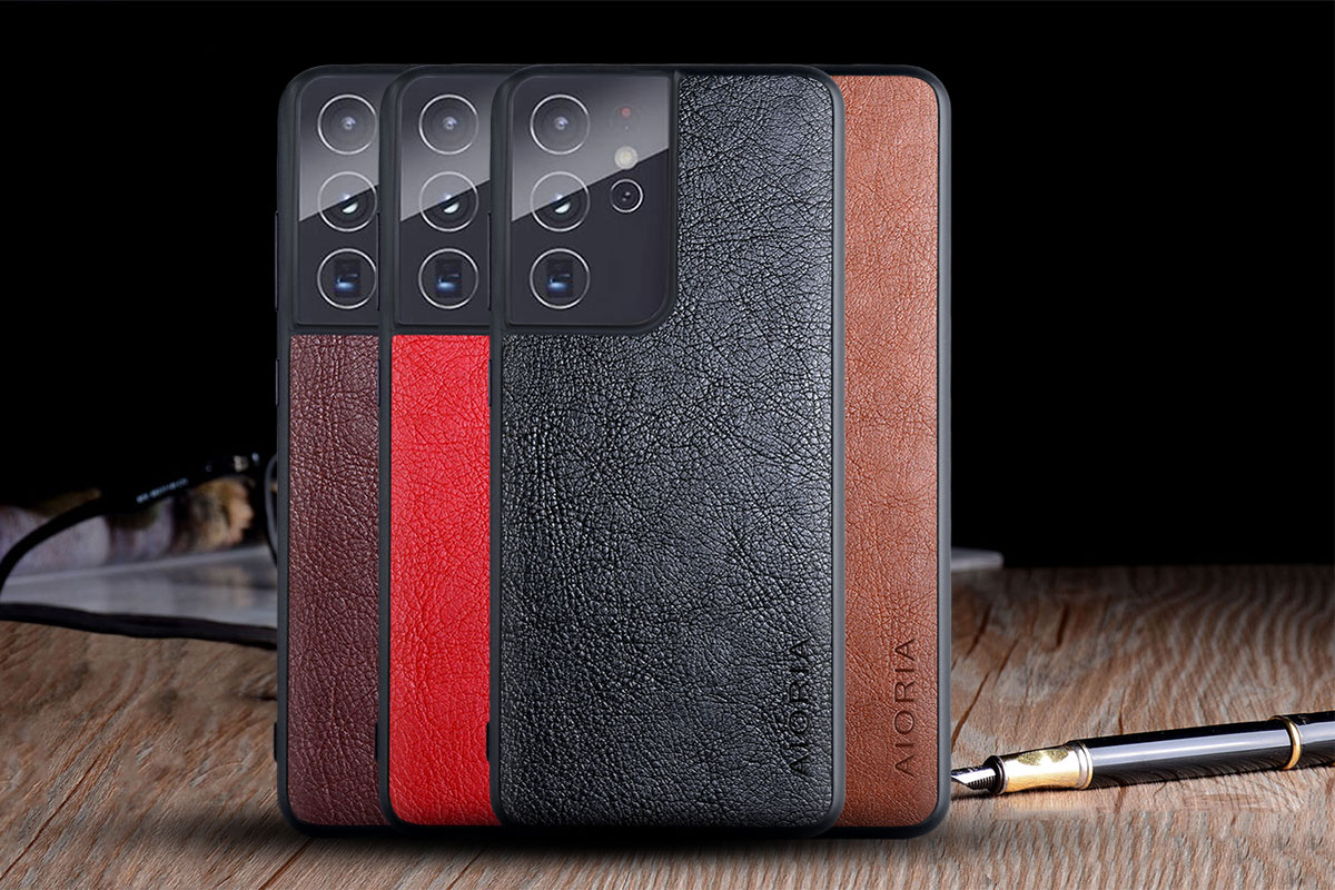 Galaxy S21 Ultra Leather Case 2
