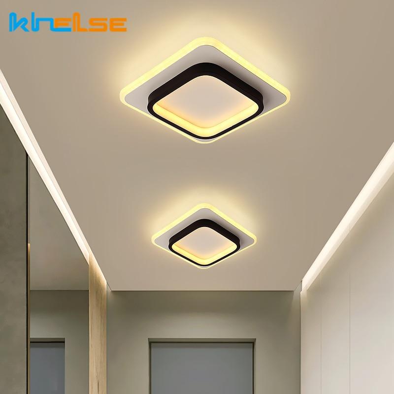 Modern Round Square LED Ceiling Light for Living room Bedroom Aisle Corridor Lighting Study Office Decoration Ceiling Light 24cm modern led ceiling light square