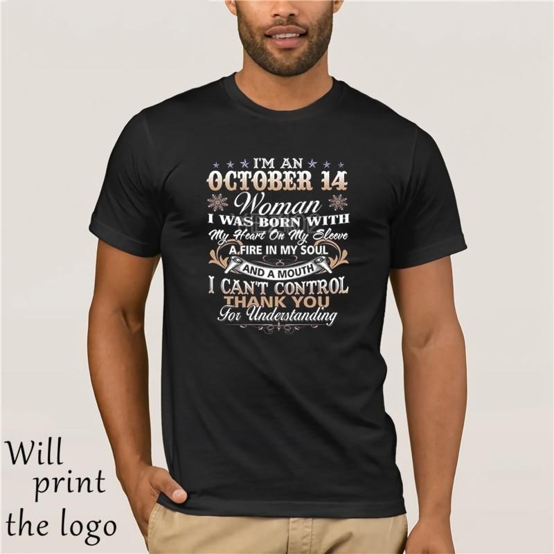 Camiseta Im An October 14 regalo de cumpleaños