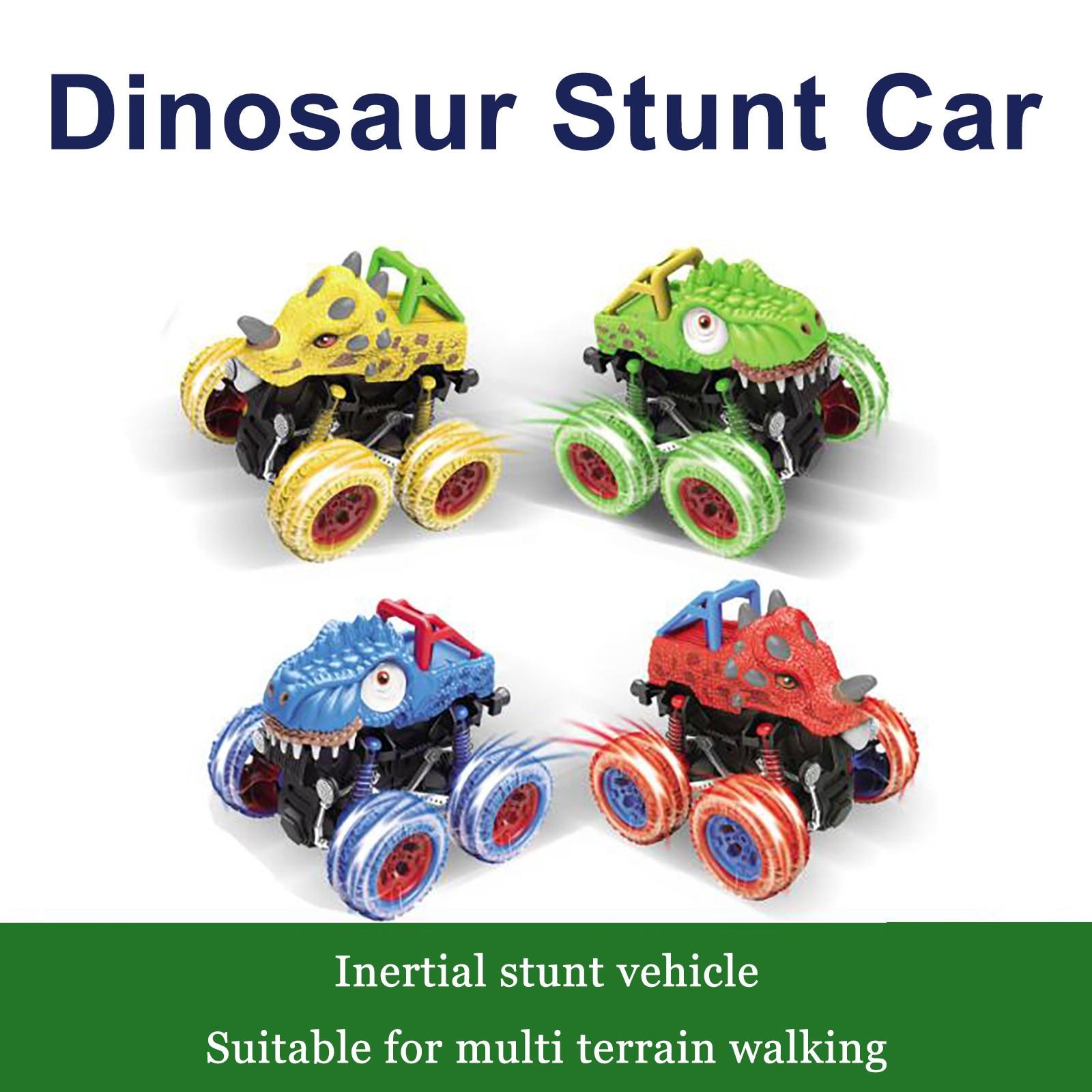 Creative Pull Back Press Dinosaur Toy Car Cartoon Animal Clockwork Children's Toy Non-toxic Colored Animal Vehicles Toys #10