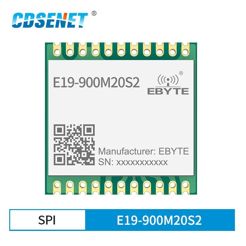 868mhz 915mhz cojxu e43 900t13s3 low cost iot module development board uart wireless transceiver transmitter receiver E19-900M20S2 SX1276 LoRa 868MHz 915MHz 20dBm Module SMD SPI Interface Wireless Transceiver Transmitter Receiver Module