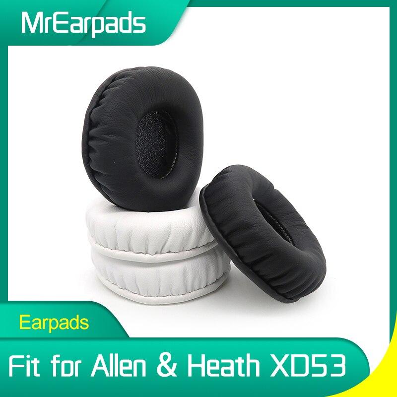 Almohadillas para los oídos para Allen & Heath XD53, reemplazo de diadema,...