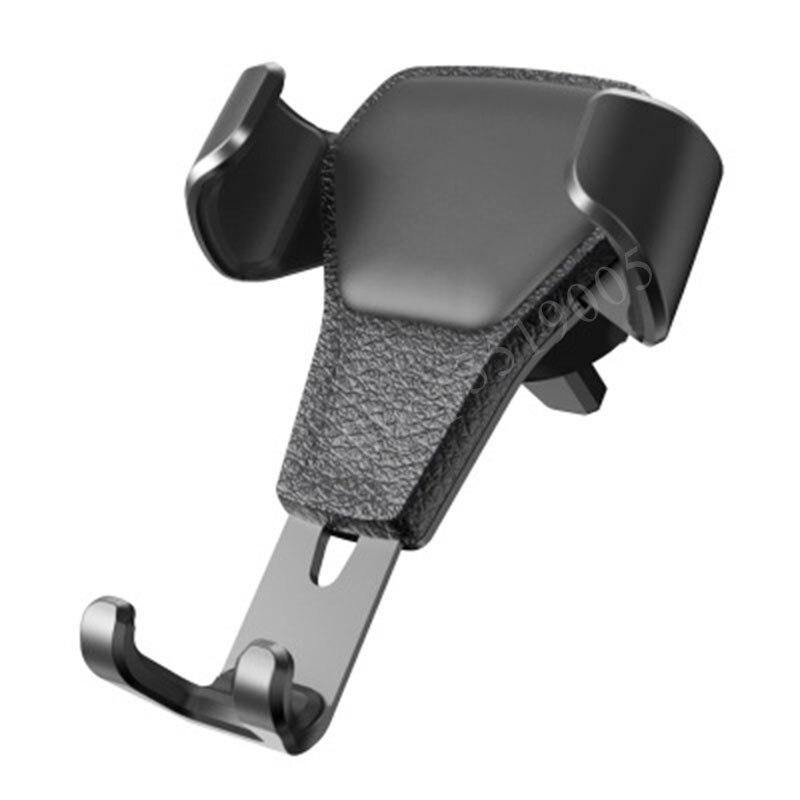 עבור מרצדס בנץ GLK CLA W140 GLA SLK R172 G GLC CLA CLK W209 אביזרי רכב טלפון מחזיק אוויר Vent stand מדבקות