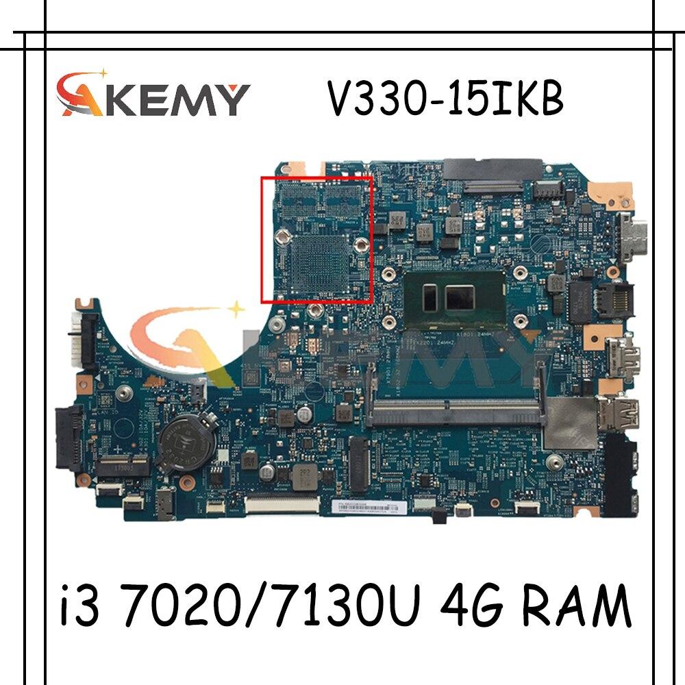 اللوحة الأم لينوفو V330-15IKB اللوحة الأم LV315KB 17807-3 448.0DC04.0031 مع وحدة المعالجة المركزية i3 7020/7130U 4G RAM اختبار 100%