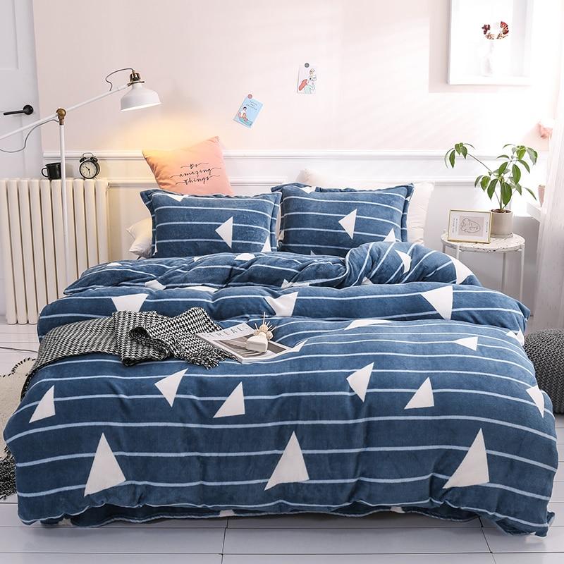 Manta caliente esponjosa súper Franela suave mantas para camas visón cubrecama manta caliente de invierno Dropshipping LY