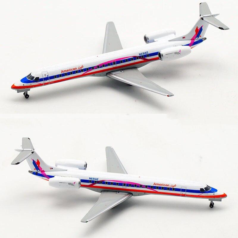 ERJ-145LR a escala 1/400 N691AE American Airlines Brasil ERJ avión modelo aleación avión colección de exhibición coleccionable aviones